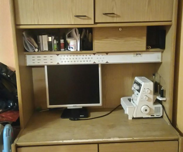 Продам шкаф-стол. Фото 1. Елизово.