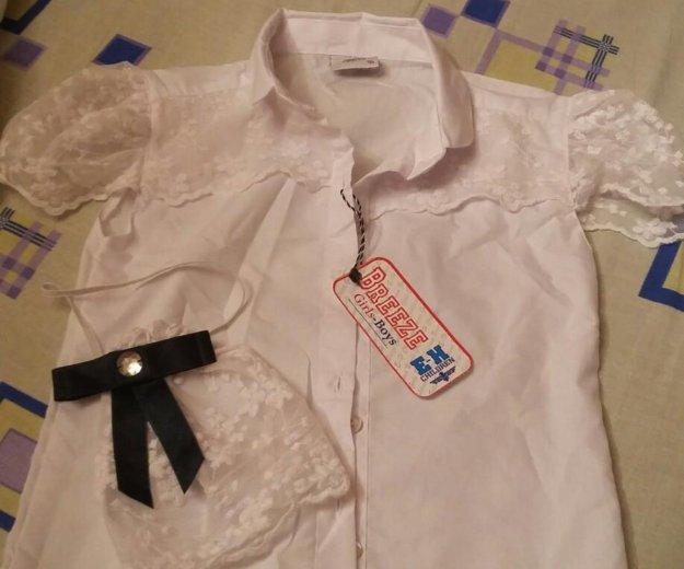 Блузка (школьная)для девочки болгария. Фото 2. Москва.