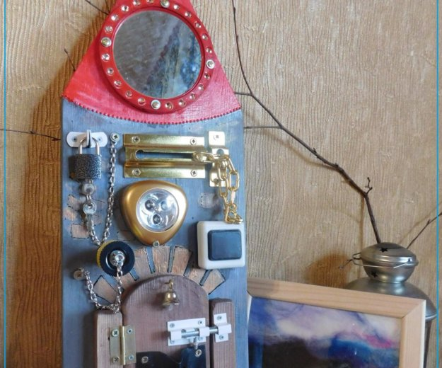 Бизборд. развивающие доски. Фото 2. Самара.
