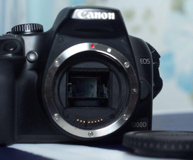 Фотоаппарат canon 1000 d. Фото 4. Краснодар.