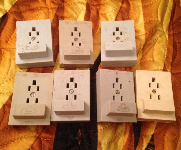 Бесплатно! розетки для городского телефона. Фото 2. Москва.