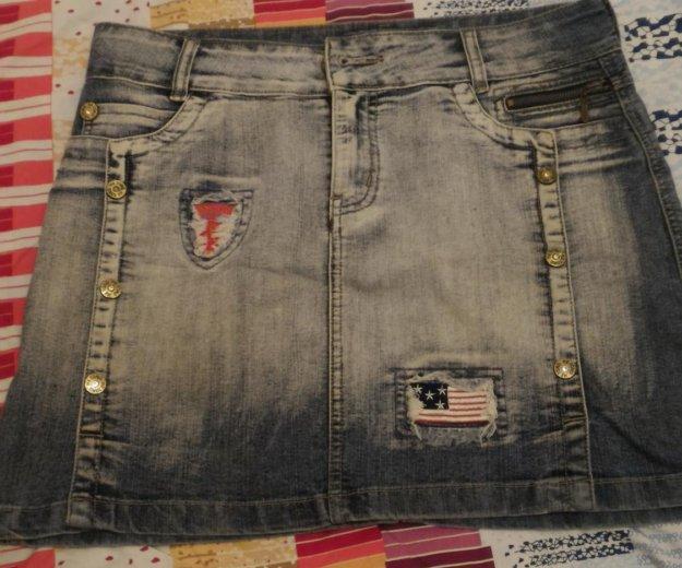 Юбка джинсовая. Фото 3. Подольск.