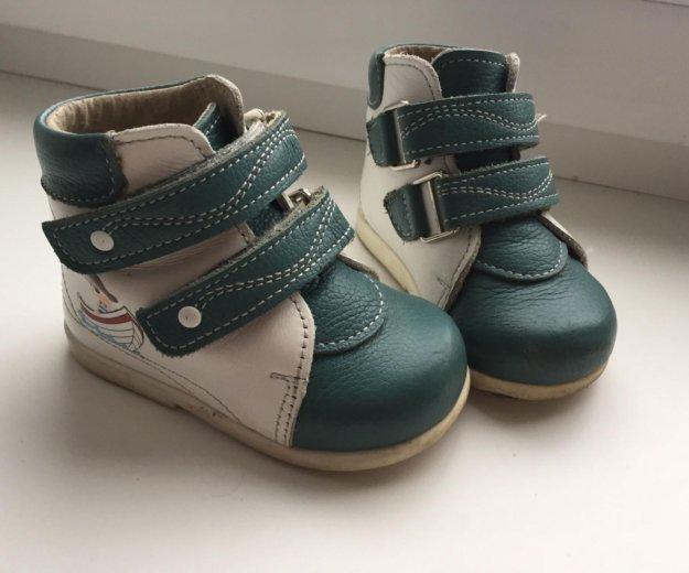 Ботиночки детские 19 размер. Фото 2.