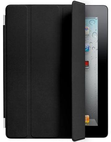 Чехол кожаный smart cover для ipad 2/3/4 (черный). Фото 1. Москва.