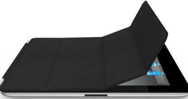 Чехол кожаный smart cover для ipad 2/3/4 (черный). Фото 2. Москва.