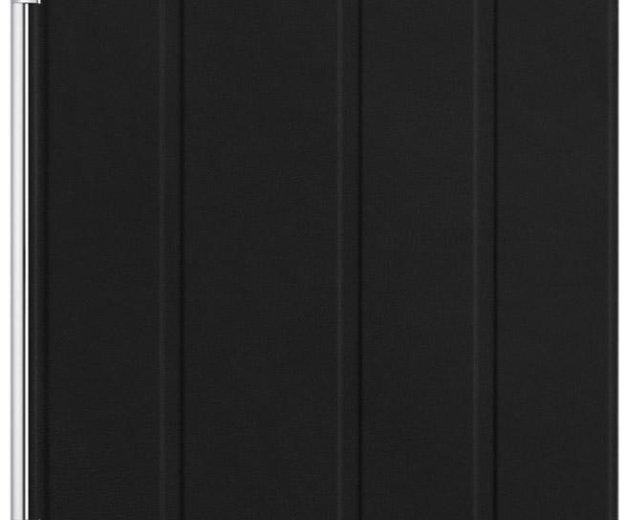 Чехол кожаный smart cover для ipad 2/3/4 (черный). Фото 3. Москва.