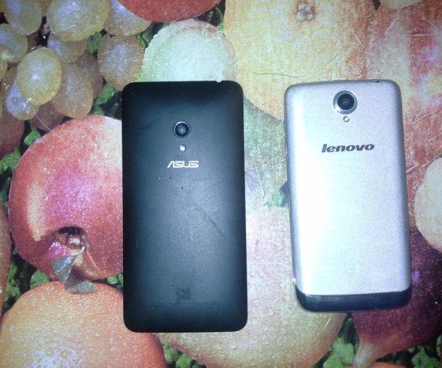 Продам 2 телефон асус и леново. срочно!!!. Фото 1. Кемерово.
