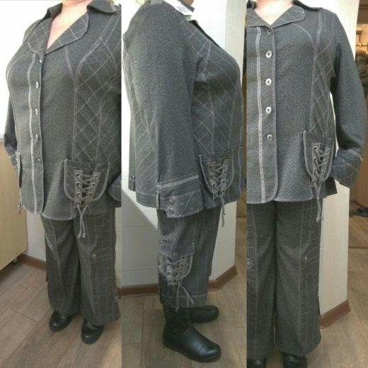Костюм пиджак брюки и укороченные брюки. Фото 1. Москва.
