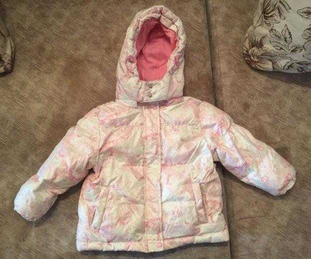 Пуховик детский (комплект куртка + комбинезон). Фото 3. Челябинск.