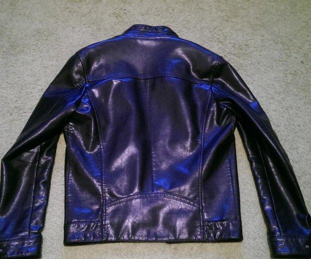 Кожанная куртка размер 46. Фото 2. Москва.