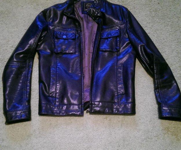 Кожанная куртка размер 46. Фото 1. Москва.