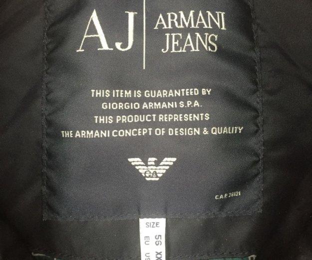 Куртка armani jeans б/у. Фото 3. Москва.