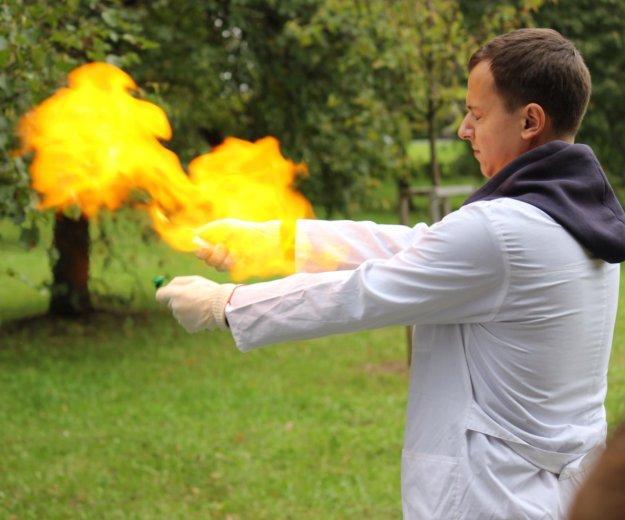 Химическое шоу, аниматор. Фото 1. Москва.