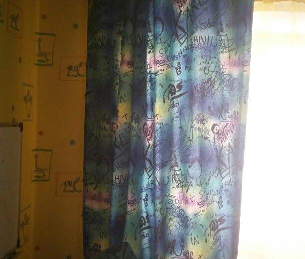 Диван и шторы. Фото 2. Комсомольск-на-Амуре.