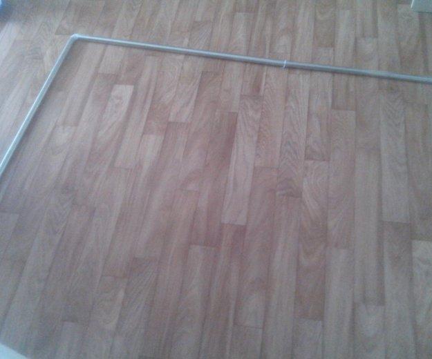 Угловая палка-держатель для шторы в ванную. Фото 2. Хабаровск.