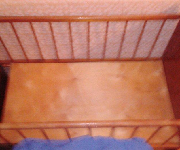 Кроватка детская и матрасс. Фото 1. Уфа.