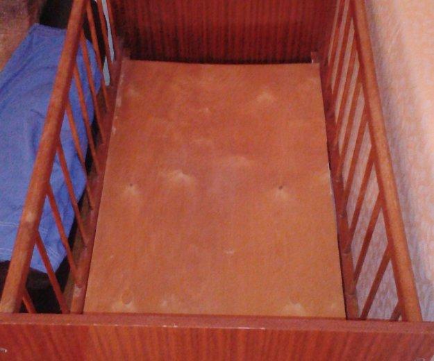 Кроватка детская и матрасс. Фото 2. Уфа.