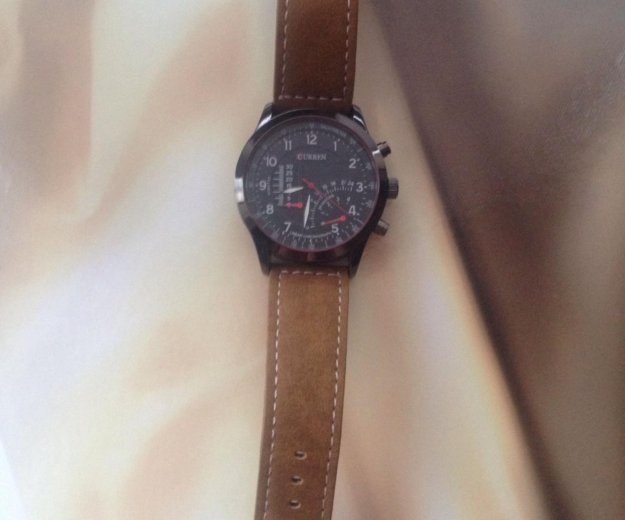 Мужские кварцевые часы curren😉. Фото 2. Краснодар.