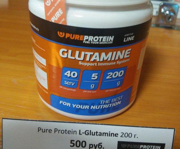 Glutamine pureprotein. Фото 1. Владивосток.