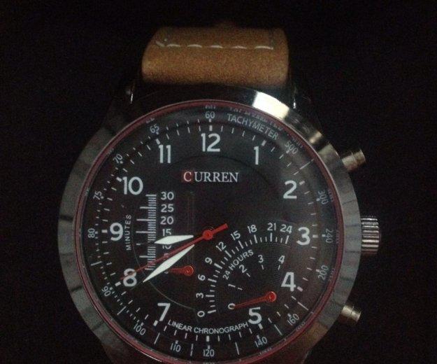 Мужские кварцевые часы curren😉. Фото 3. Краснодар.