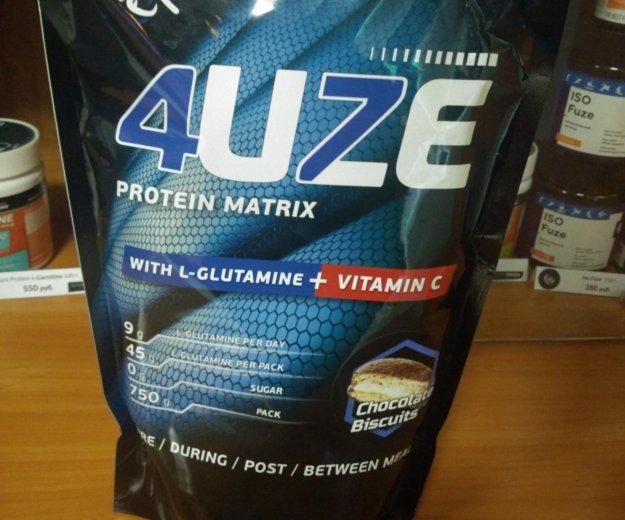 Протеин fuze l-glutamine+vitamin c. Фото 1. Владивосток.