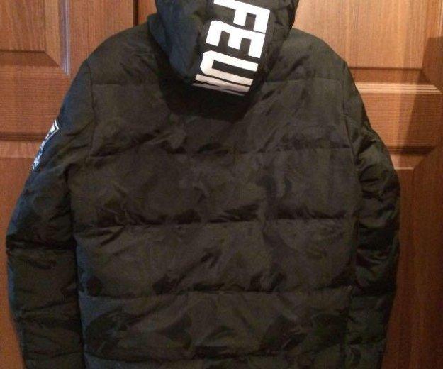 Зимняя мужская куртка на полиэстере. Фото 3. Новокузнецк.