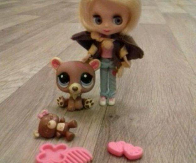 Лпс кукла блайз с мишкой. Фото 1. Норильск.