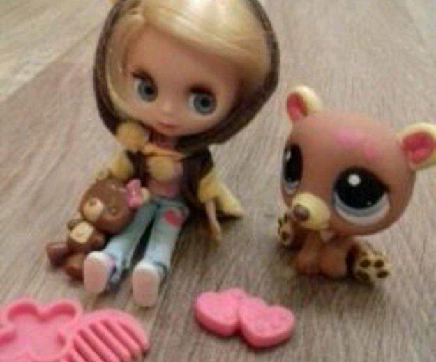 Лпс кукла блайз с мишкой. Фото 2. Норильск.