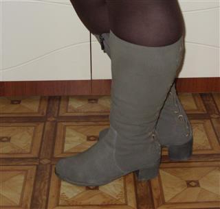 Сапожки на полные ножки. Фото 2. Барнаул.