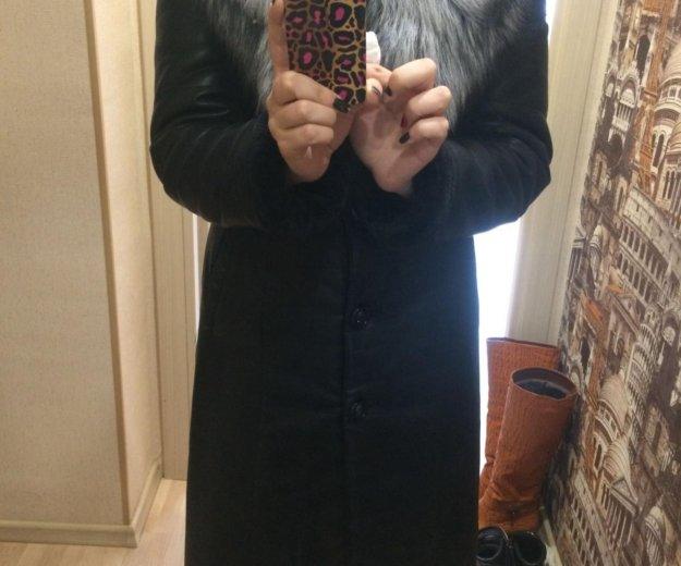 Женское зимнее пальто. Фото 1. Корсаков.