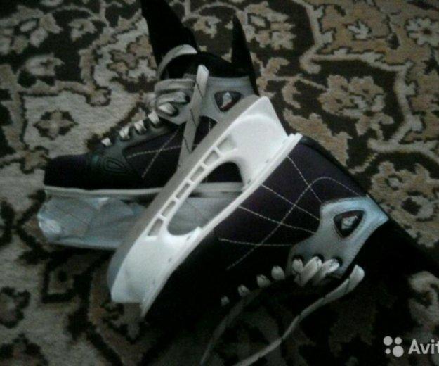 Коньки хоккей. Фото 2. Михайловка.