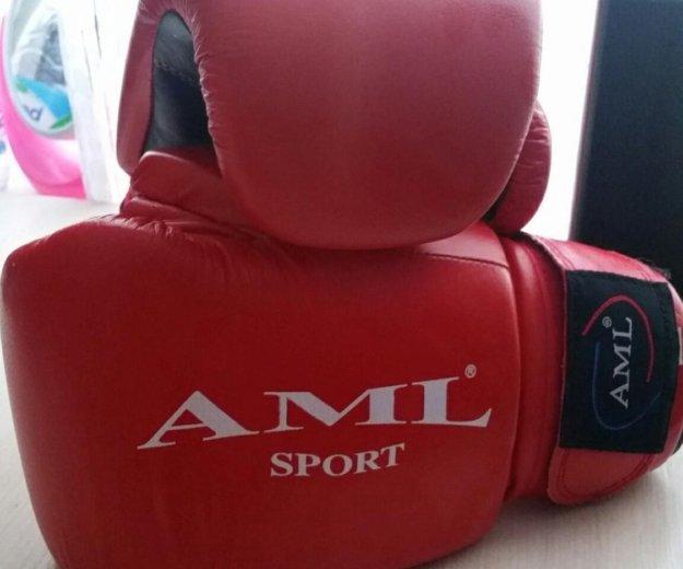 Боксерские перчатки aml-sport. Фото 1. Петропавловск-Камчатский.