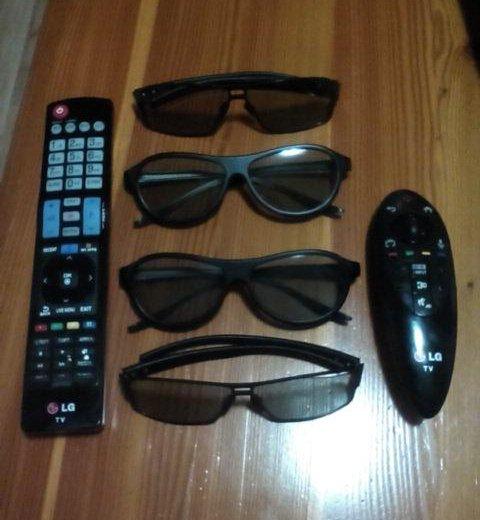 3d очки пульт ду  идеальном состояни. Фото 1. Омск.