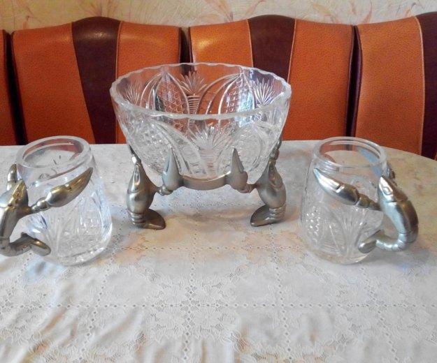 Посуда хрустальная. Фото 1. Вольно-Надеждинское.