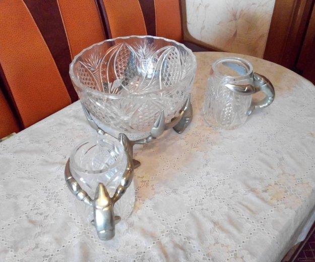 Посуда хрустальная. Фото 3. Вольно-Надеждинское.