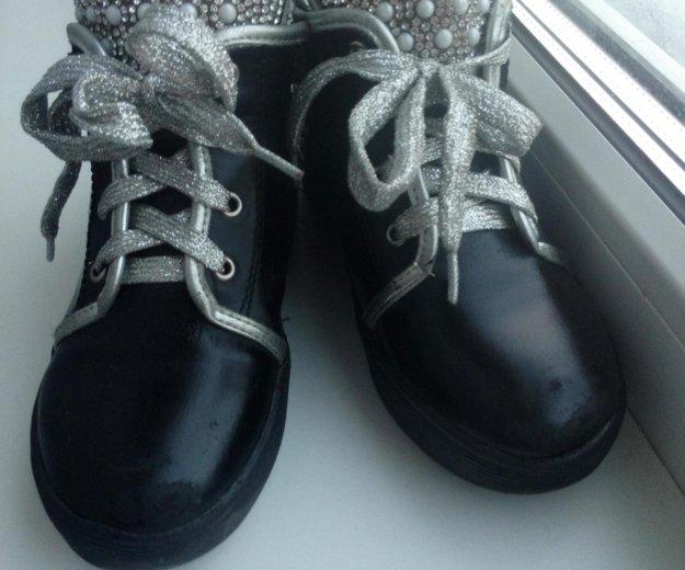 Ботинки демисезонные. Фото 3. Новосибирск.