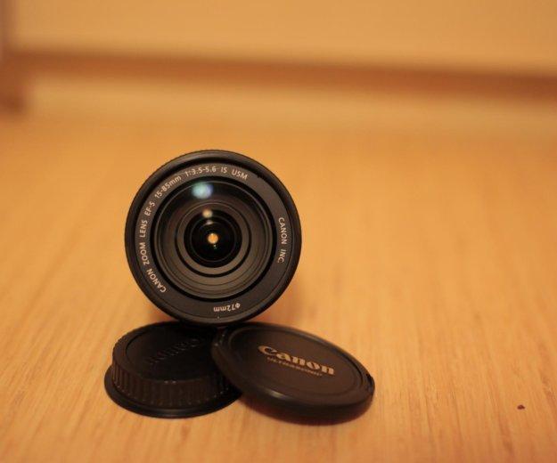 Canon ef-s 15-85 f/3.5-5.6 is usm. Фото 1. Новосибирск.