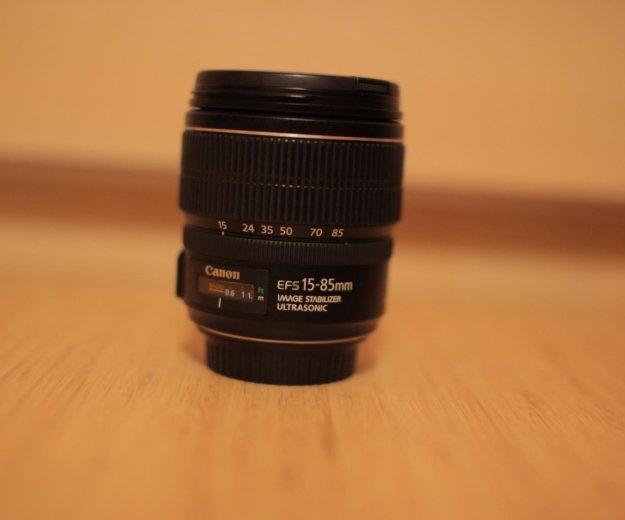 Canon ef-s 15-85 f/3.5-5.6 is usm. Фото 4. Новосибирск.