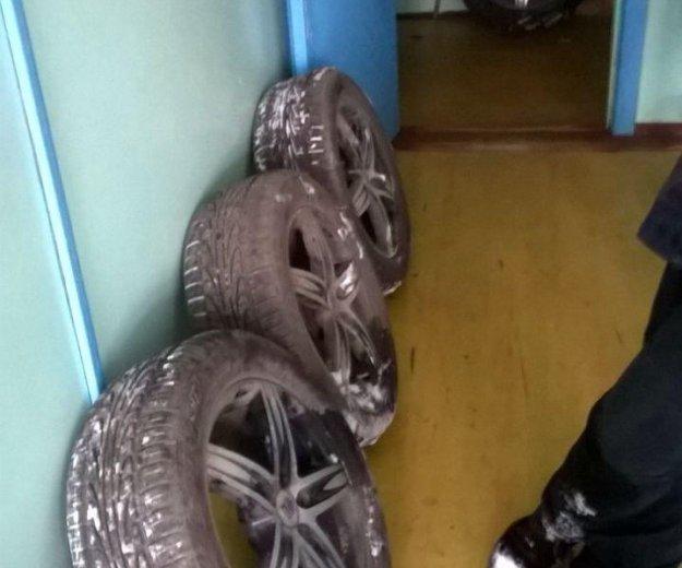 Комплект колес. Фото 2. Нижнеудинск.