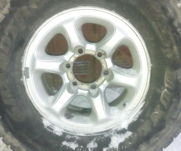 Продам колеса паджеро 265х70r15. Фото 3. Владивосток.