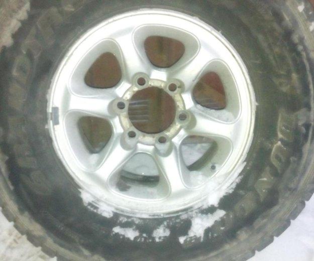 Продам колеса паджеро 265х70r15. Фото 4. Владивосток.