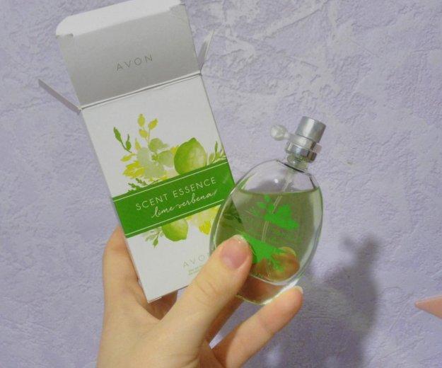 Туалетнпя вода от avon scent essence lime verbena. Фото 1. Барнаул.