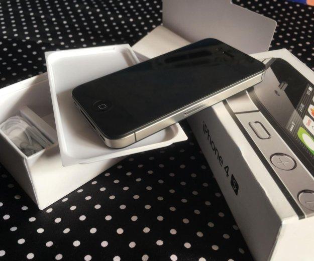 Apple iphone 4s/8gb идеал. Фото 2. Иркутск.
