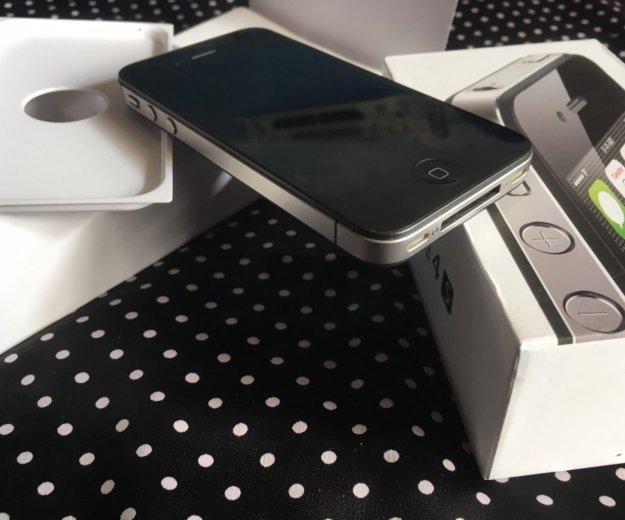 Apple iphone 4s/8gb идеал. Фото 1. Иркутск.