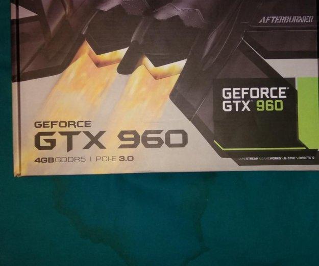 Видеокарта nvidia geforce gtx 960 4gb. Фото 4. Москва.