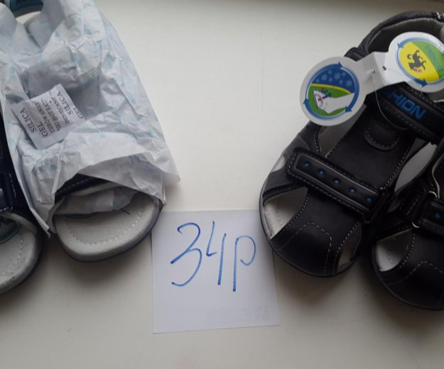 34р.новые сандали-2 модели. Фото 4. Москва.