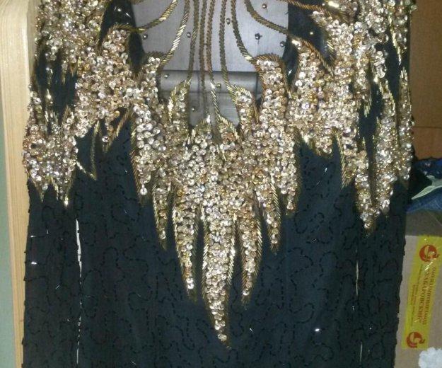 Вечернее платье бисер. Фото 1. Заветы Ильича.