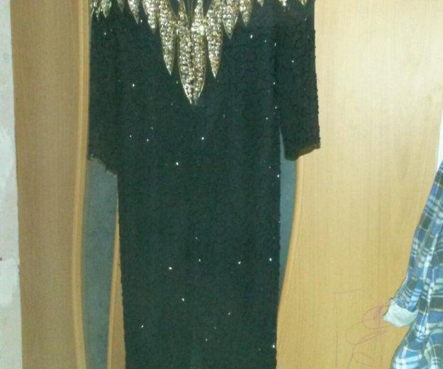 Вечернее платье бисер. Фото 2. Заветы Ильича.