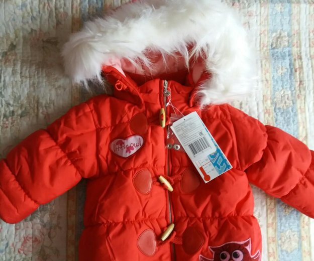 Новая зимняя куртка baby club р.86. Фото 1. Красноярск.