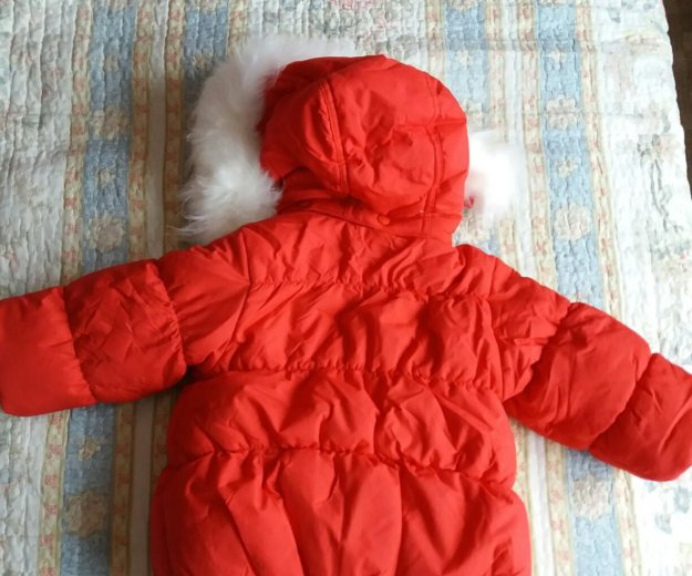 Новая зимняя куртка baby club р.86. Фото 2. Красноярск.